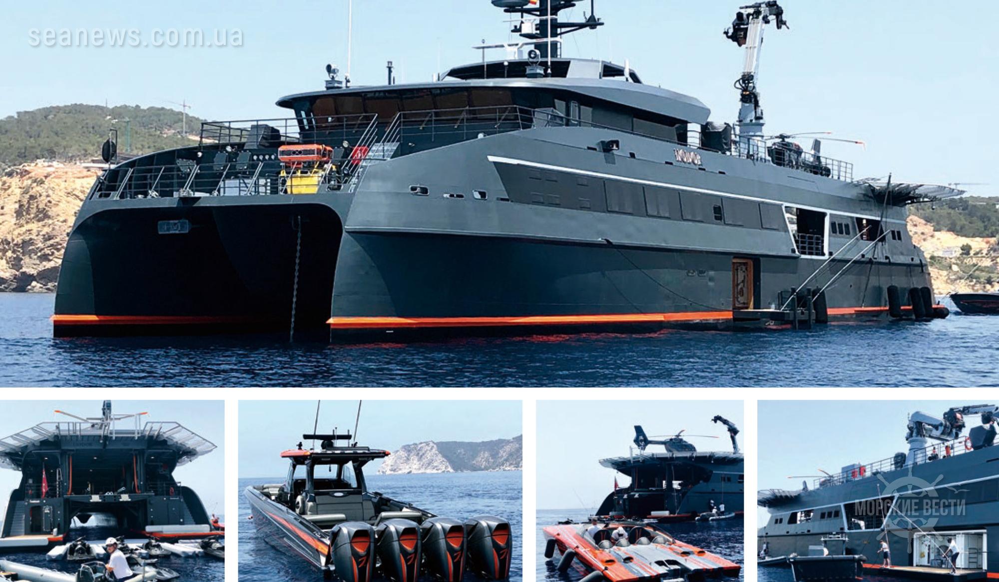 HODOR — катамаран, предназначенный для сопровождения мега-яхт