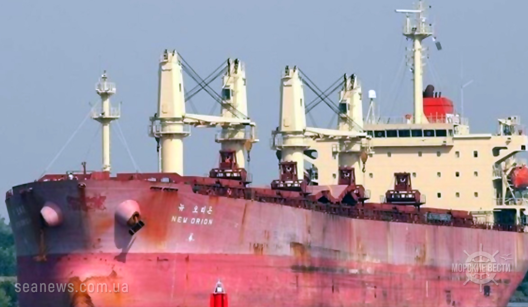 В Малайзии задержано судно с украинцами на борту