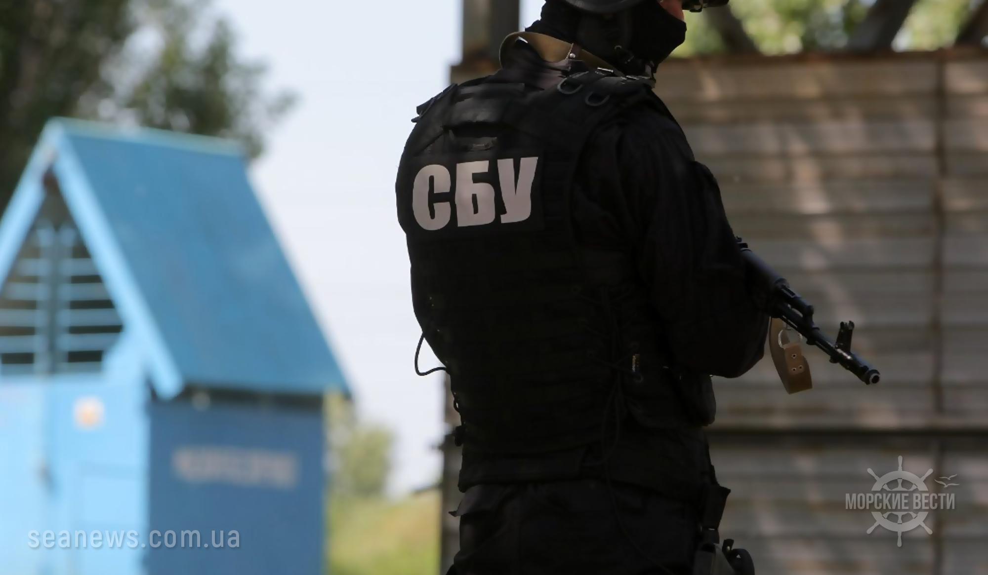 Правоохранители провели обыск в Одесском морском торговом порту