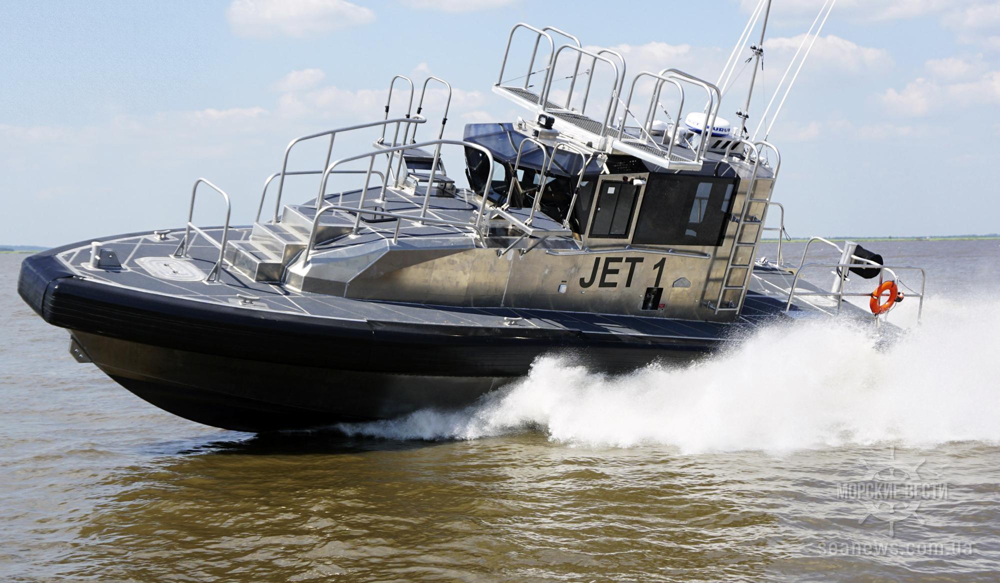 Верфь Metal Sharks передала оператору флота BCMT два новейших катера
