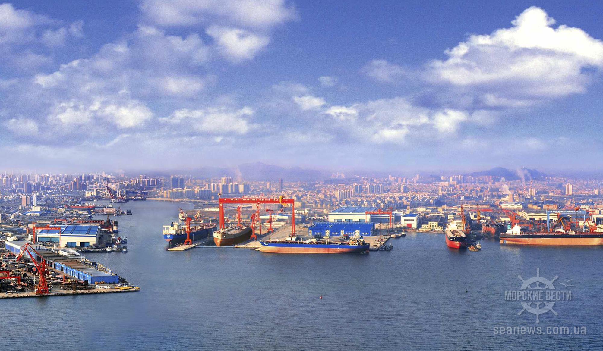 Китай создает крупнейшую в мире судостроительную группу