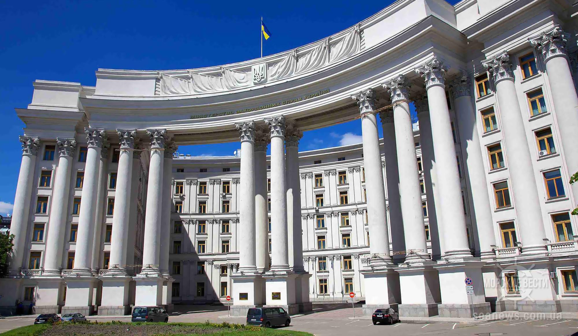 МИД планирует вернуть из Греции досрочно освобожденных украинских моряков