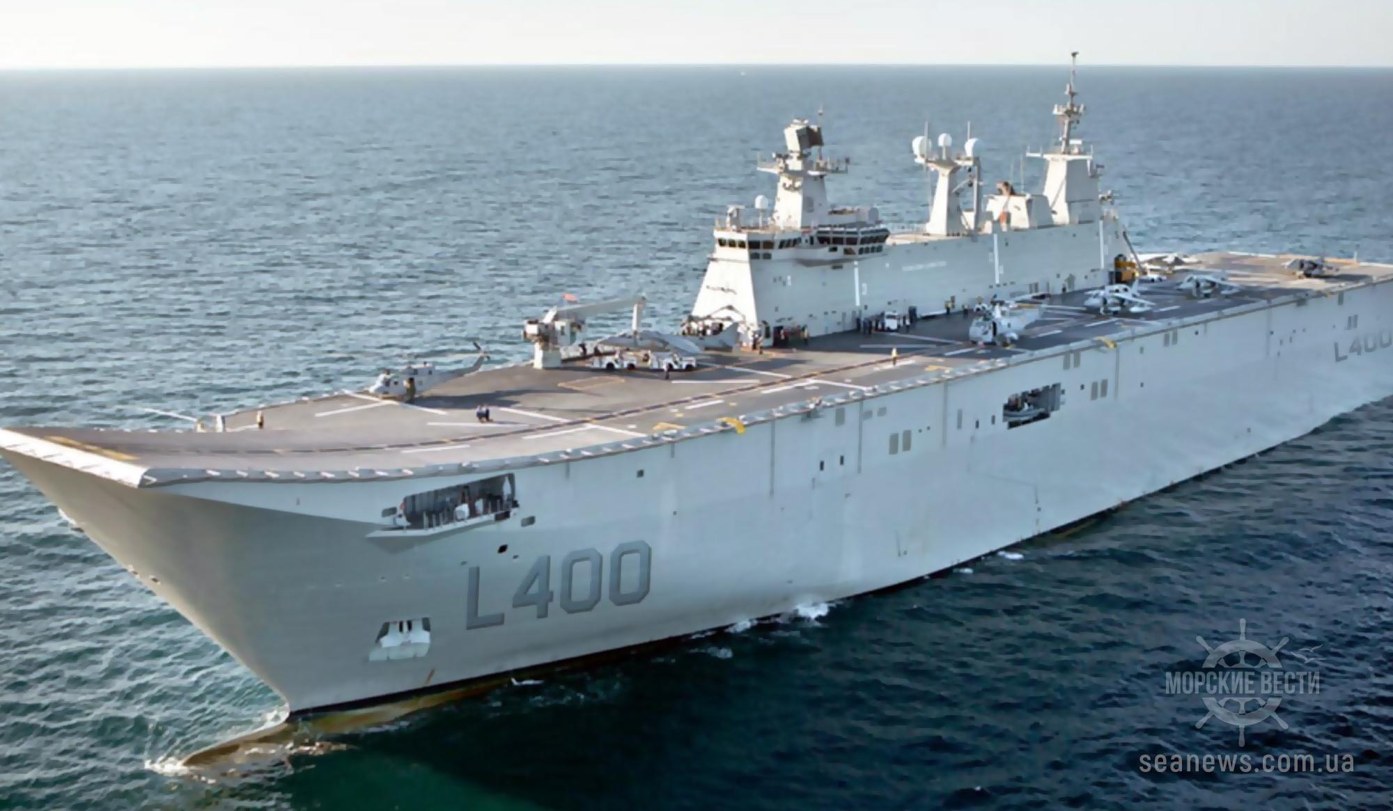 Турецкий флот получит в этом году авианосец собственного производства