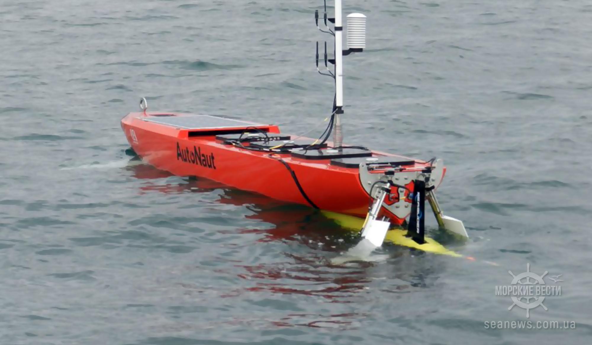 Британцы создали систему из автономного судна и беспилотной субмарины