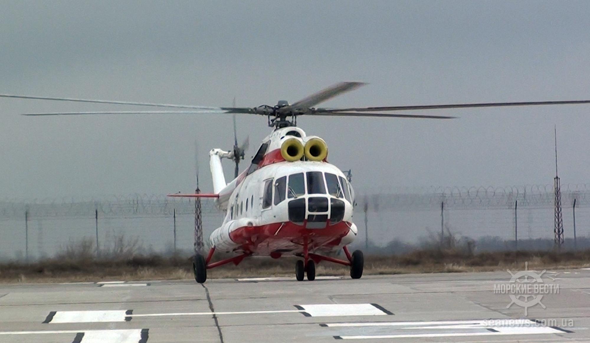 На Азовское море можно будет добраться вертолетом