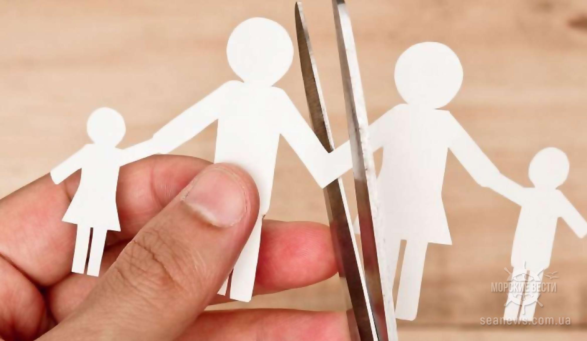 Из-за моряков Одесса лидирует по количеству разводов в стране