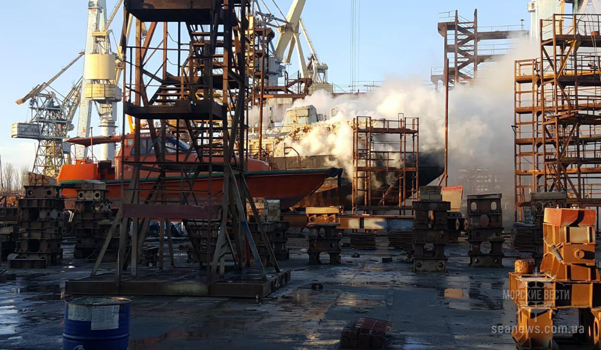 Украина построит корпус четвертого танкера-химовоза для компании VEKA Shipbuilding WT B.V.