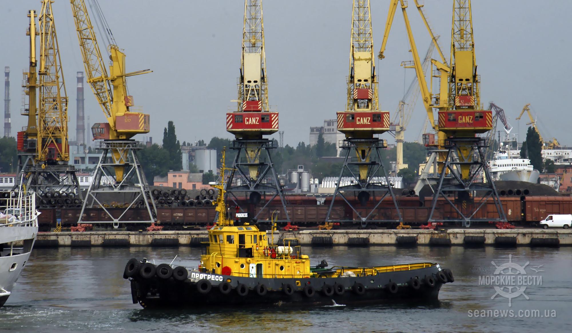 В Одесском порту планируют самостоятельно отремонтировать буксиры