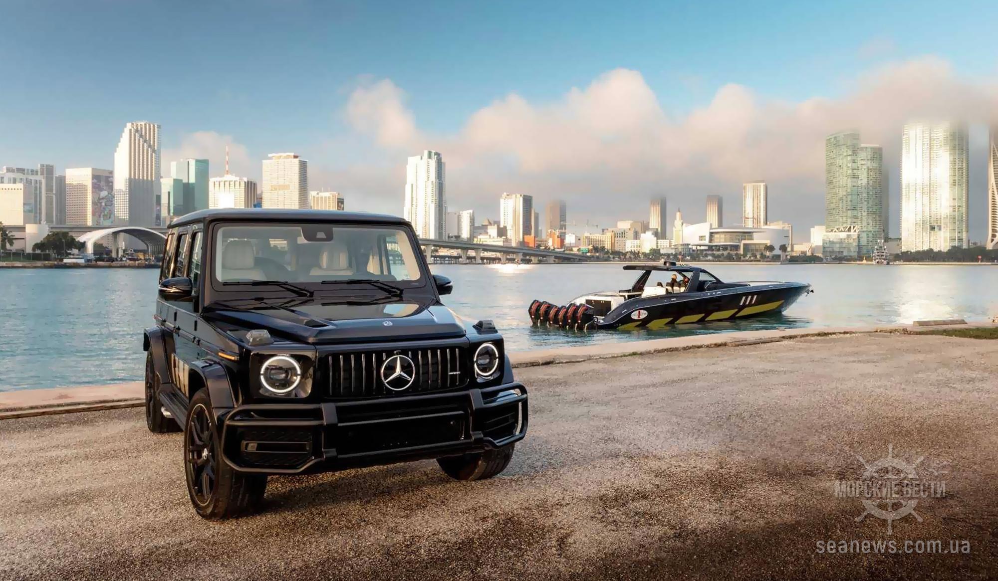 Mercedes представил 2700-сильный катер