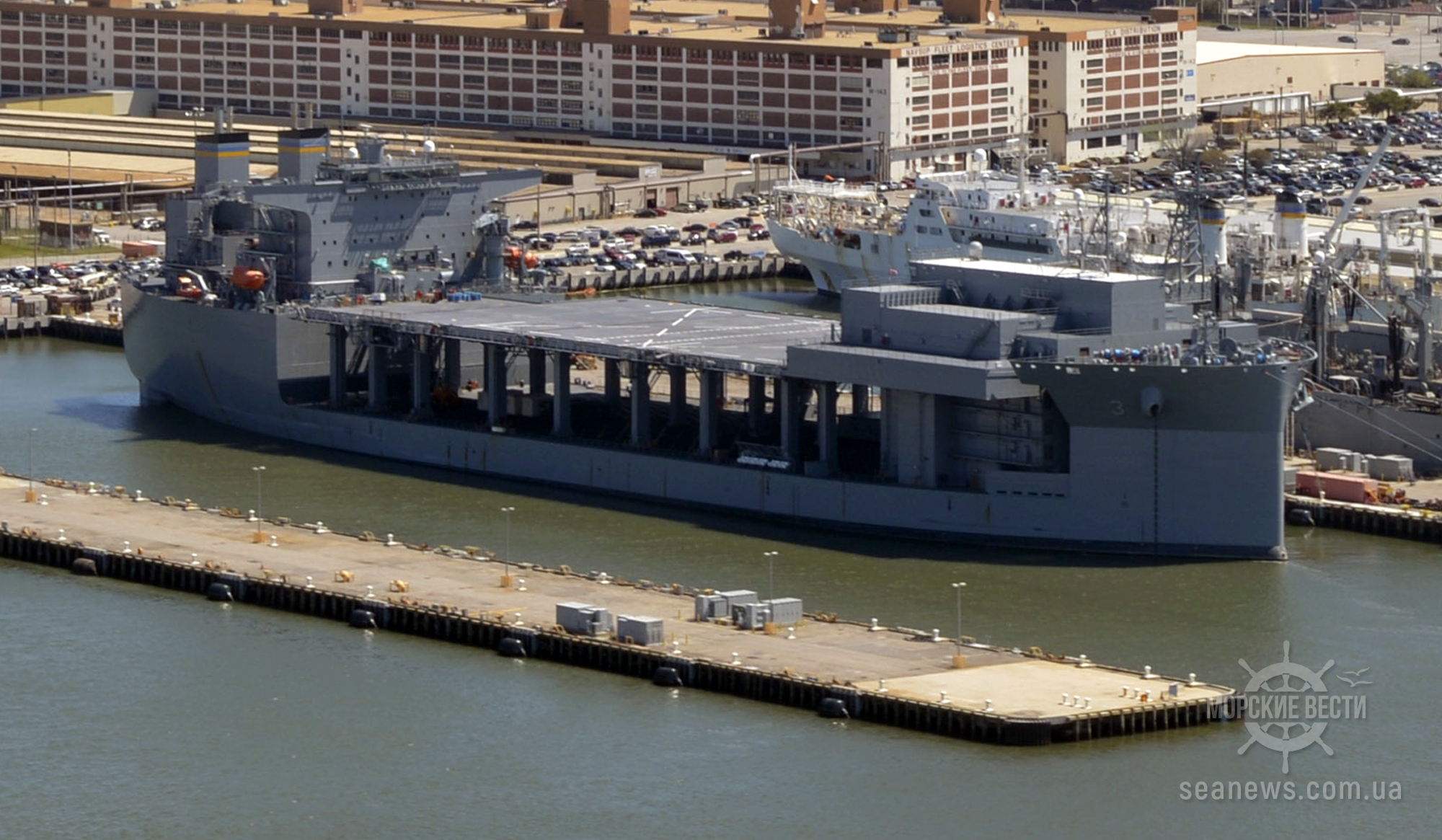 У ВМФ США новая экспедиционная морская база