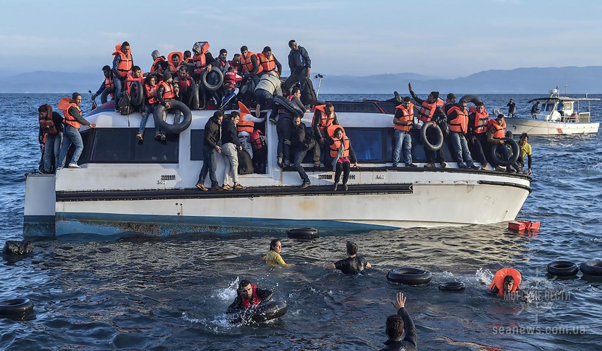 Турция закрыла морскую границу с Грецией из-за мигрантов