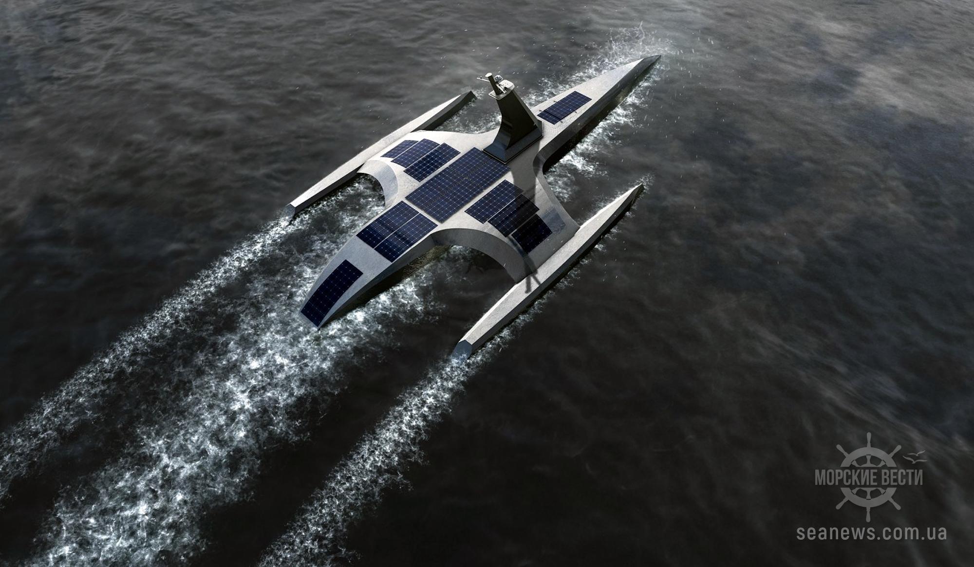 Беспилотное судно уже готовят к походу через Атлантику
