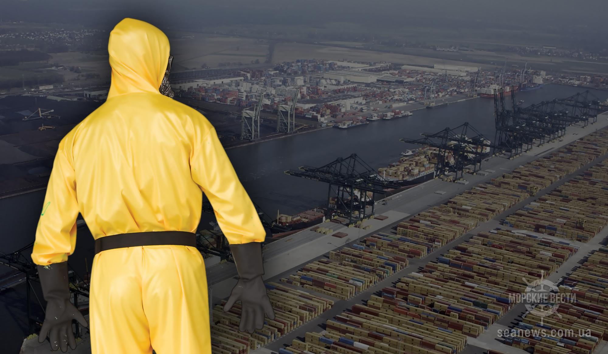 Порты Украины несут убытки из-за коронавируса