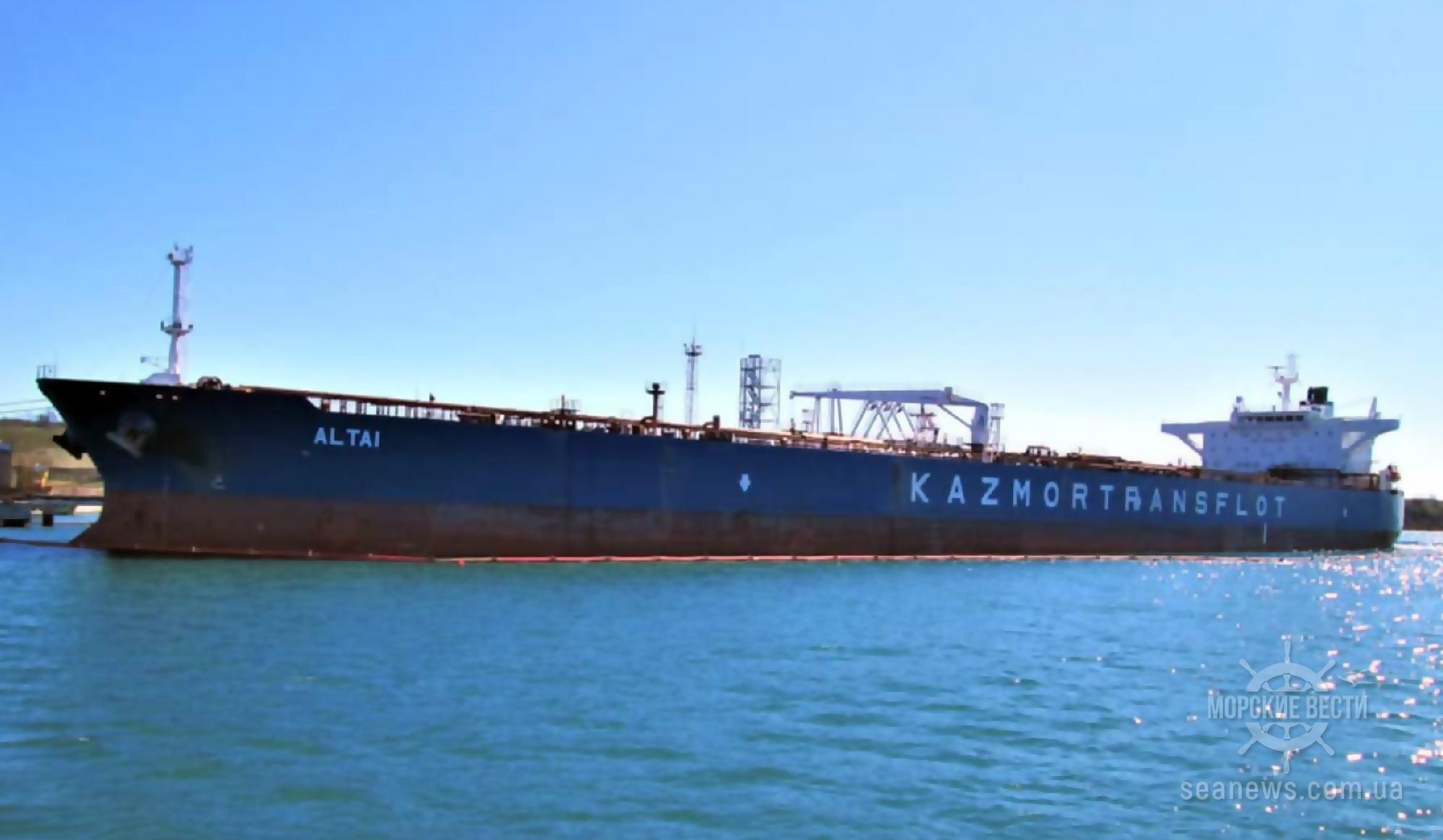 В порт под Одессой пришел второй танкер с азербайджанской нефтью для Беларуси
