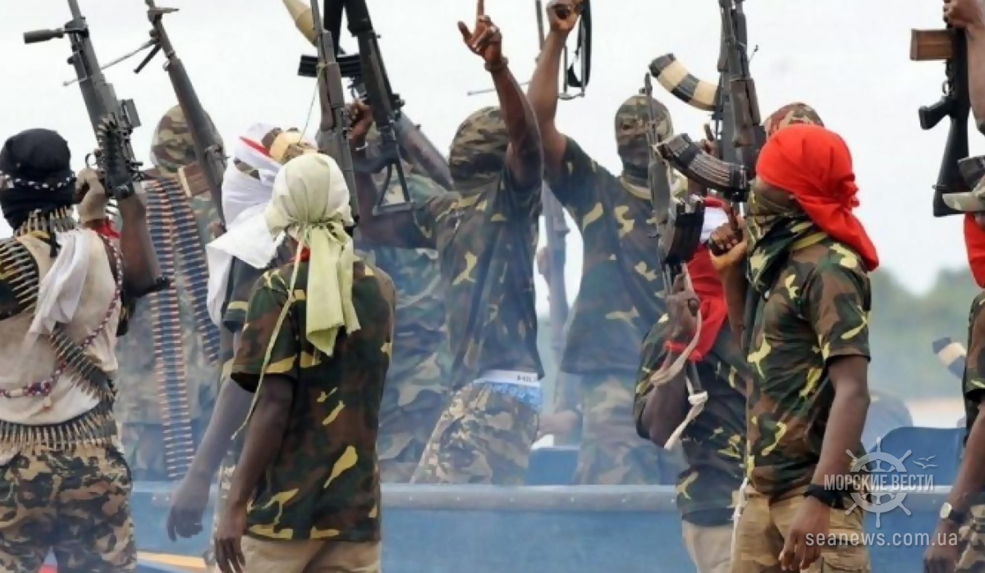 Украинских моряков освободили из плена африканских пиратов