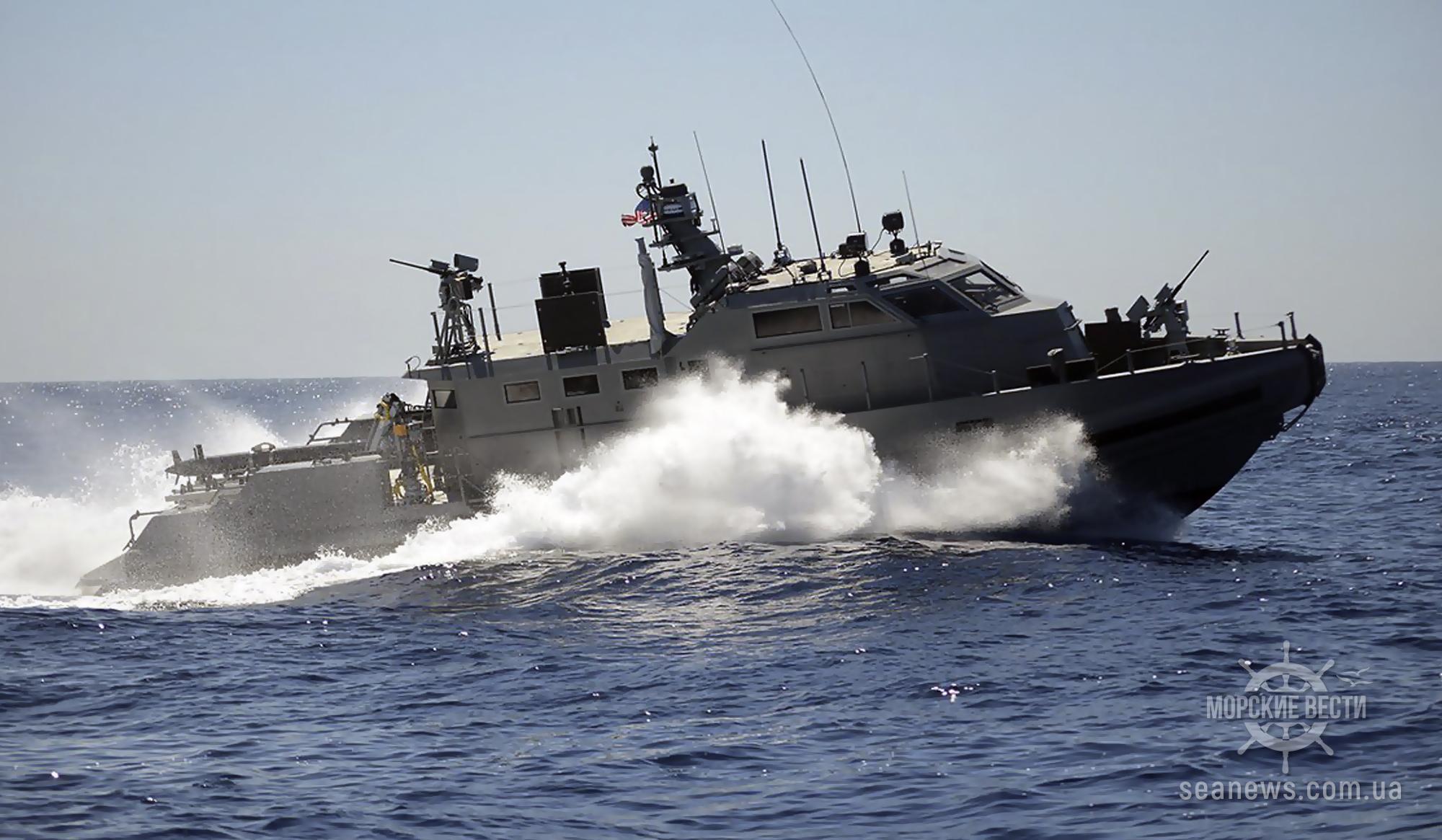 США одобрили передачу Украине катеров и морского вооружения на $600 млн.