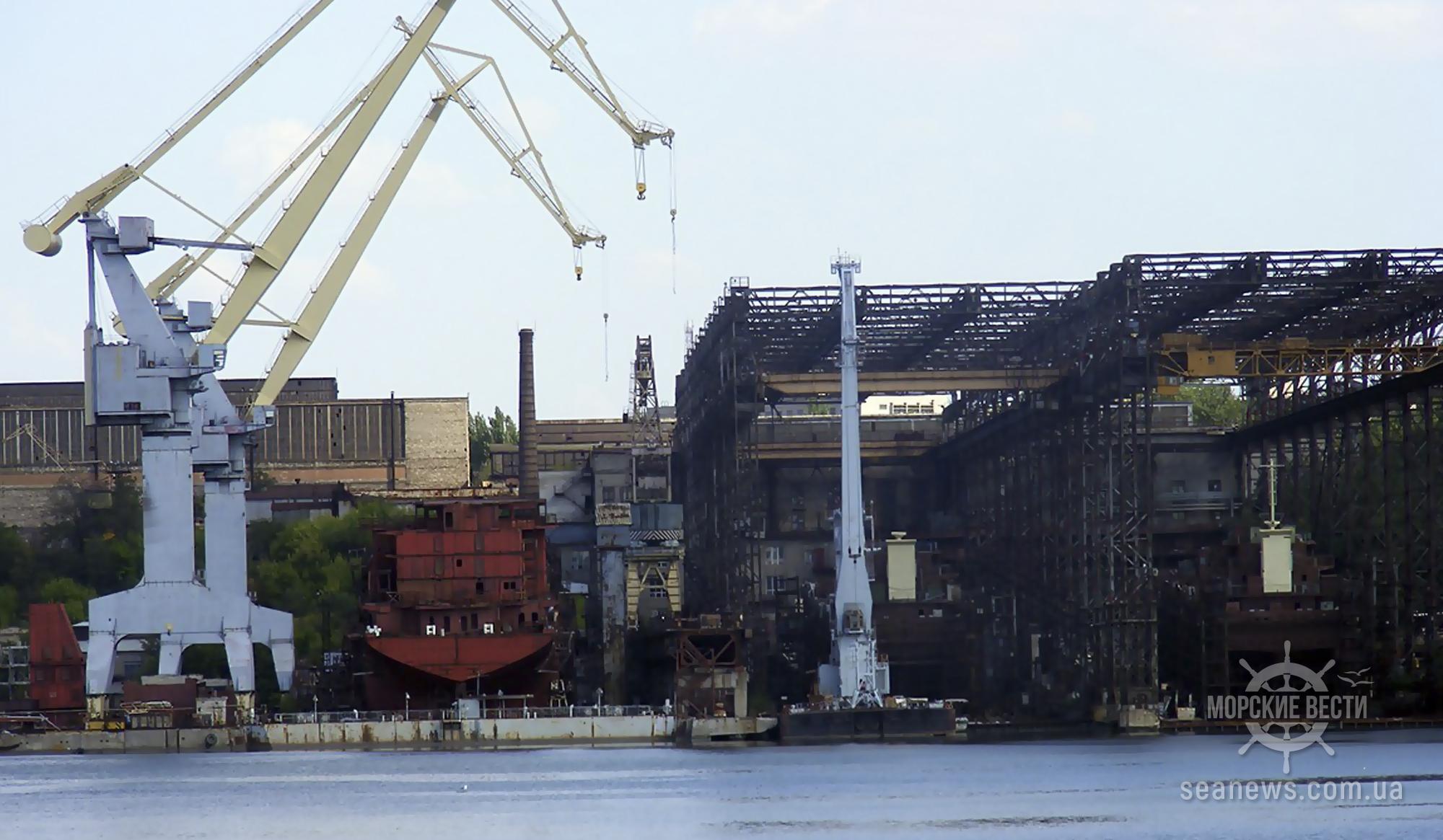 За три года в Украине построили 42 судна