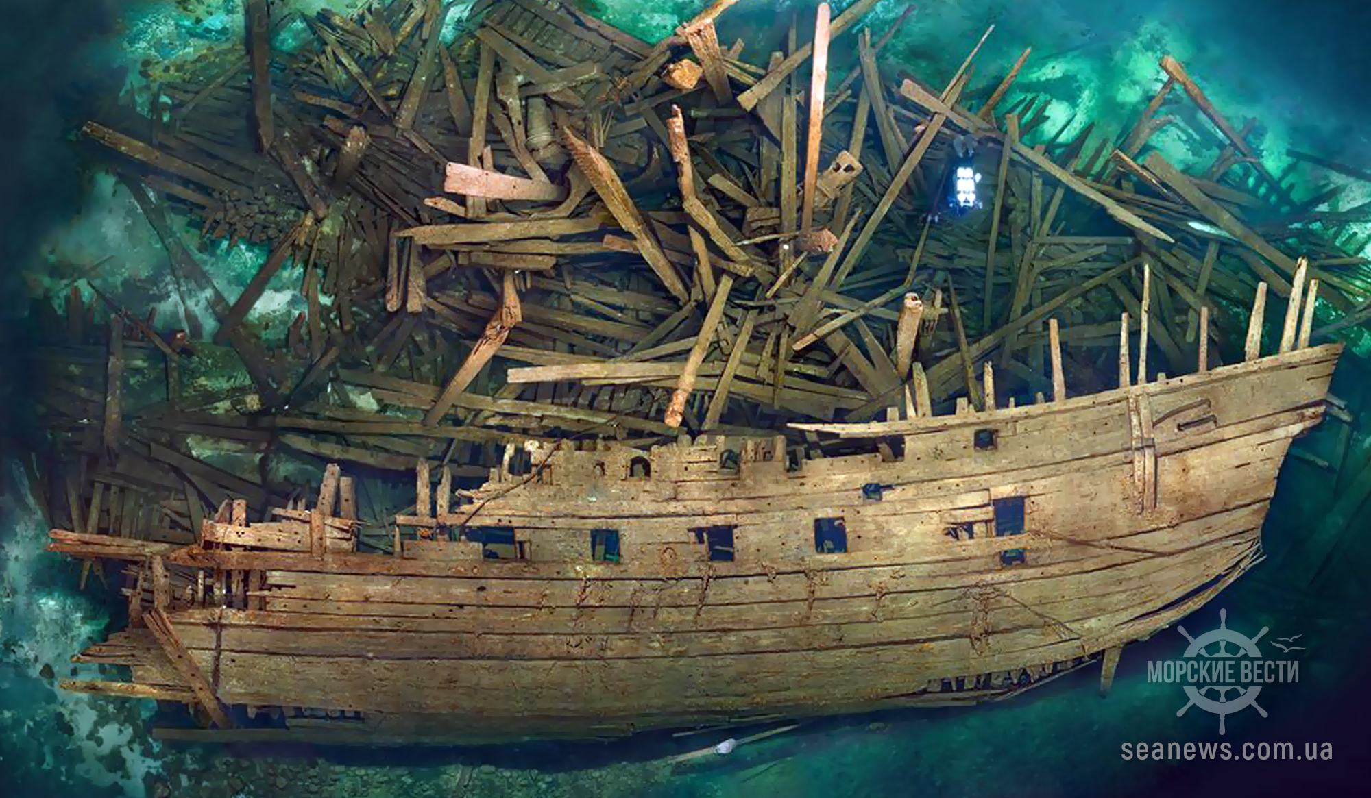 У берегов Италии обнаружено затонувшее судно XVI века