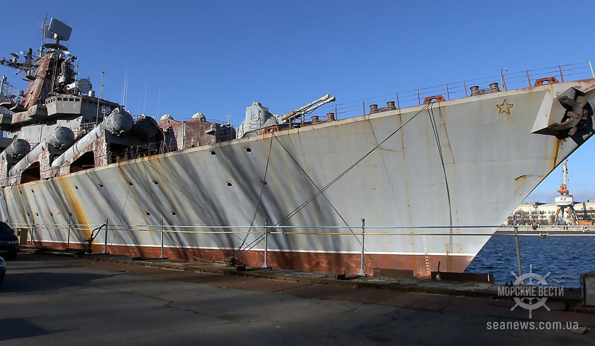 Демилитаризации крейсера «Украина» в Николаеве так и не произошла