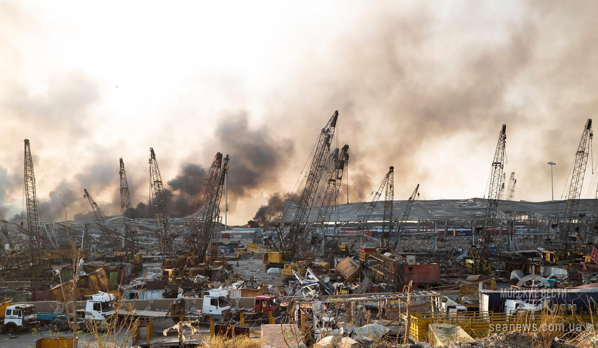 Порт Бейрута возобновил операции по разгрузке судов в полном объеме