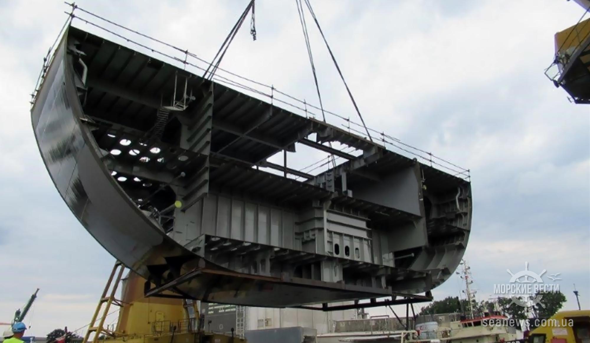 Потерявший миллионы пассажиров Tallink показал строительство нового судна