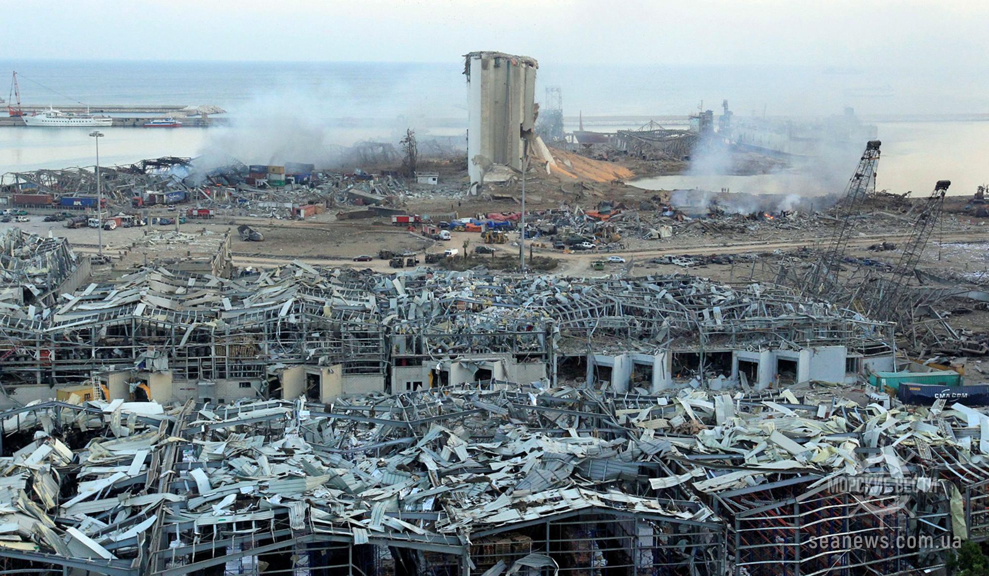 Страховые компании Бейрута могут отказаться покрывать миллиардные убытки из-за взрыва в порту
