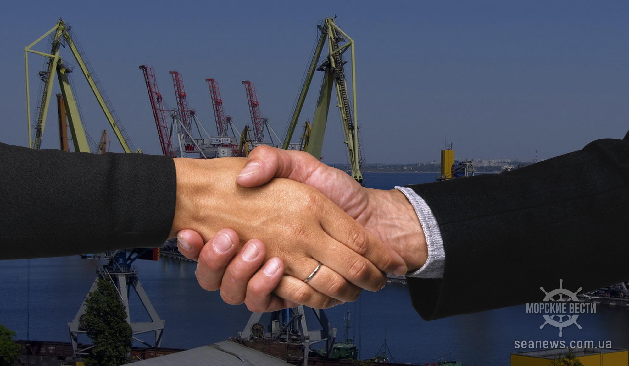 Мининфраструктуры готовит ряд проектов партнерства в морских портах