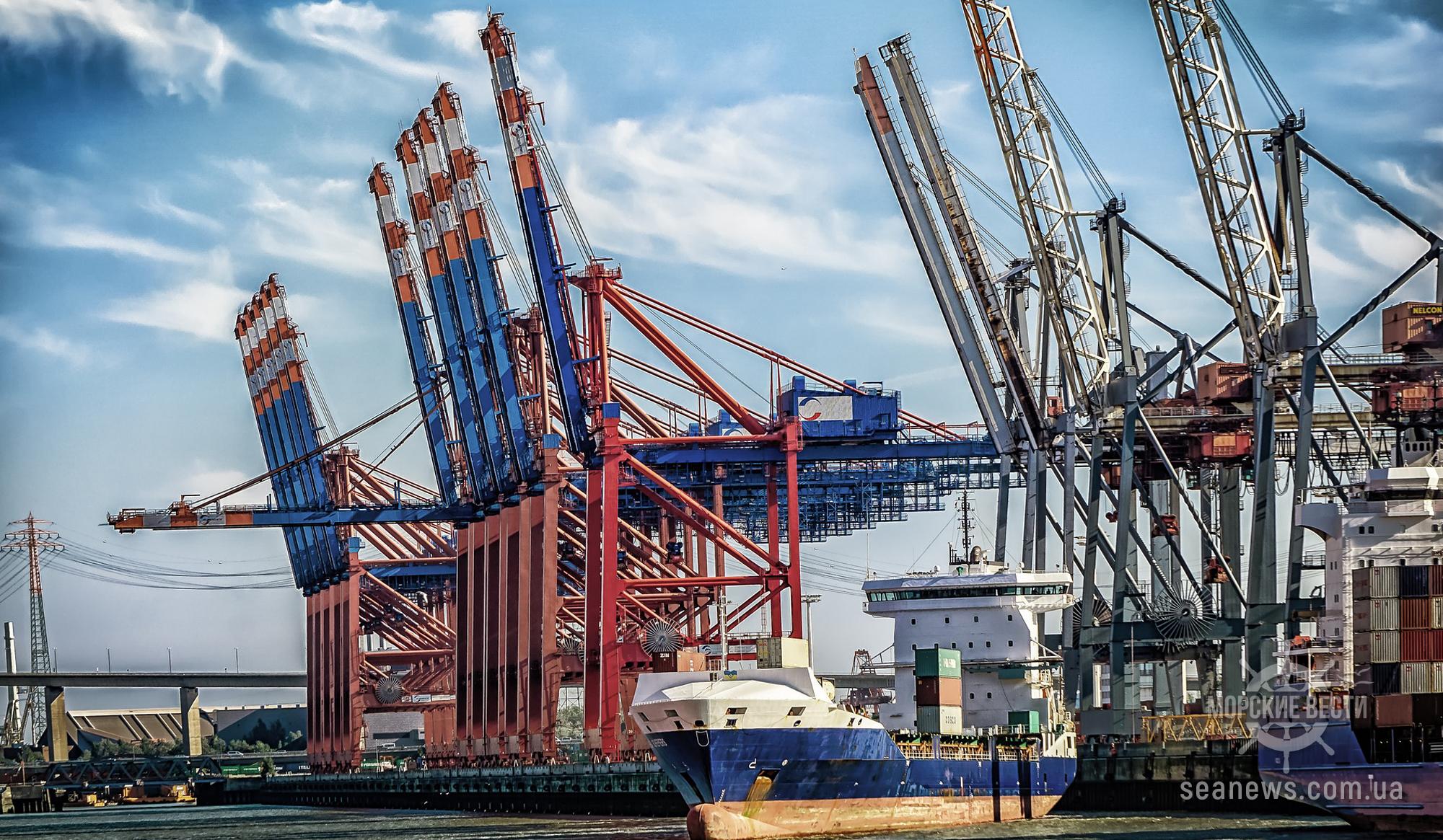 Порт Черноморск принял крупную партию американского угля