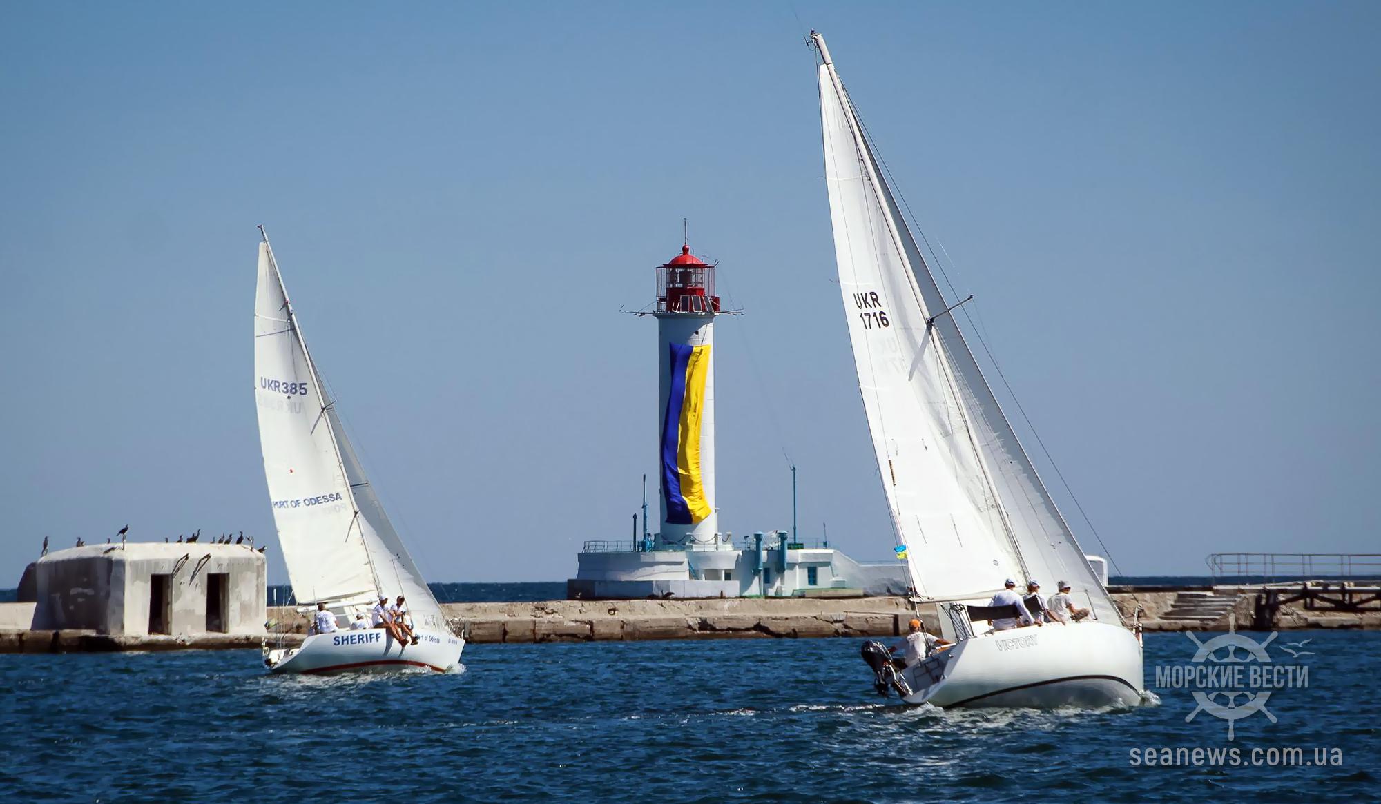 В Одессе проходит регата крейсерских яхт «Кубок Чёрного моря-2020»