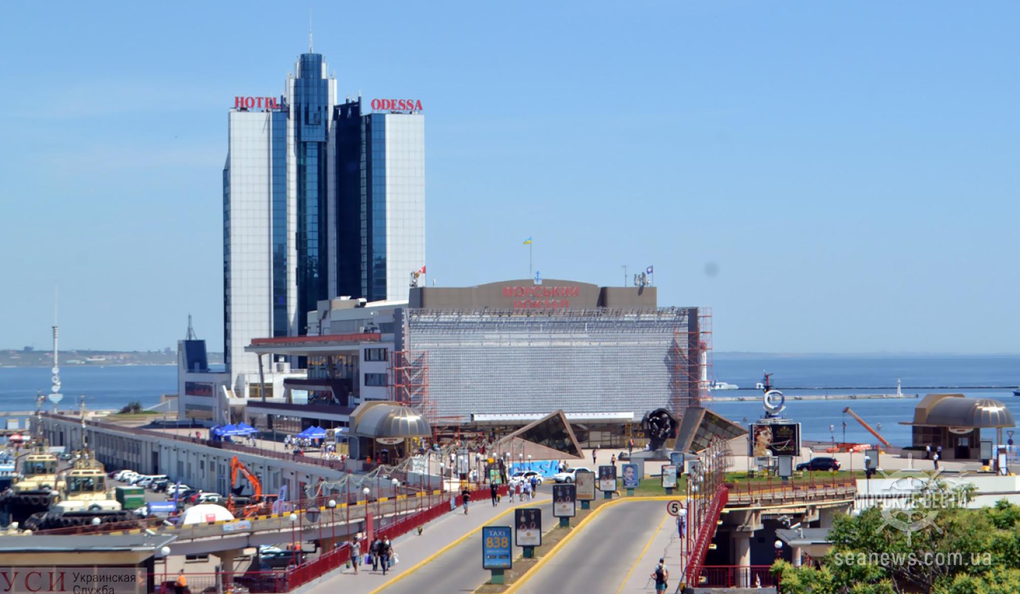Одесскому порту отводят землю под морвокзалом, чтобы тот мог передать его частникам
