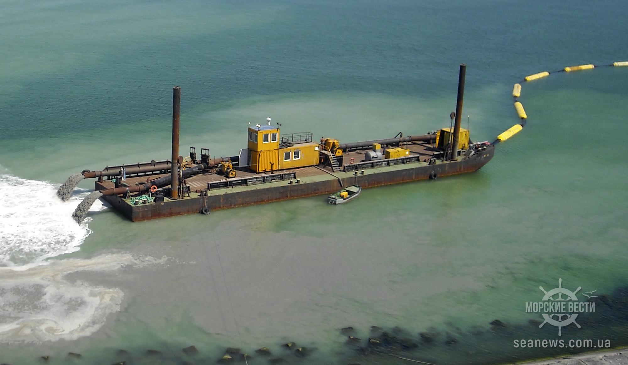 АМПУ начала проведение дноуглубления в порту Черноморск