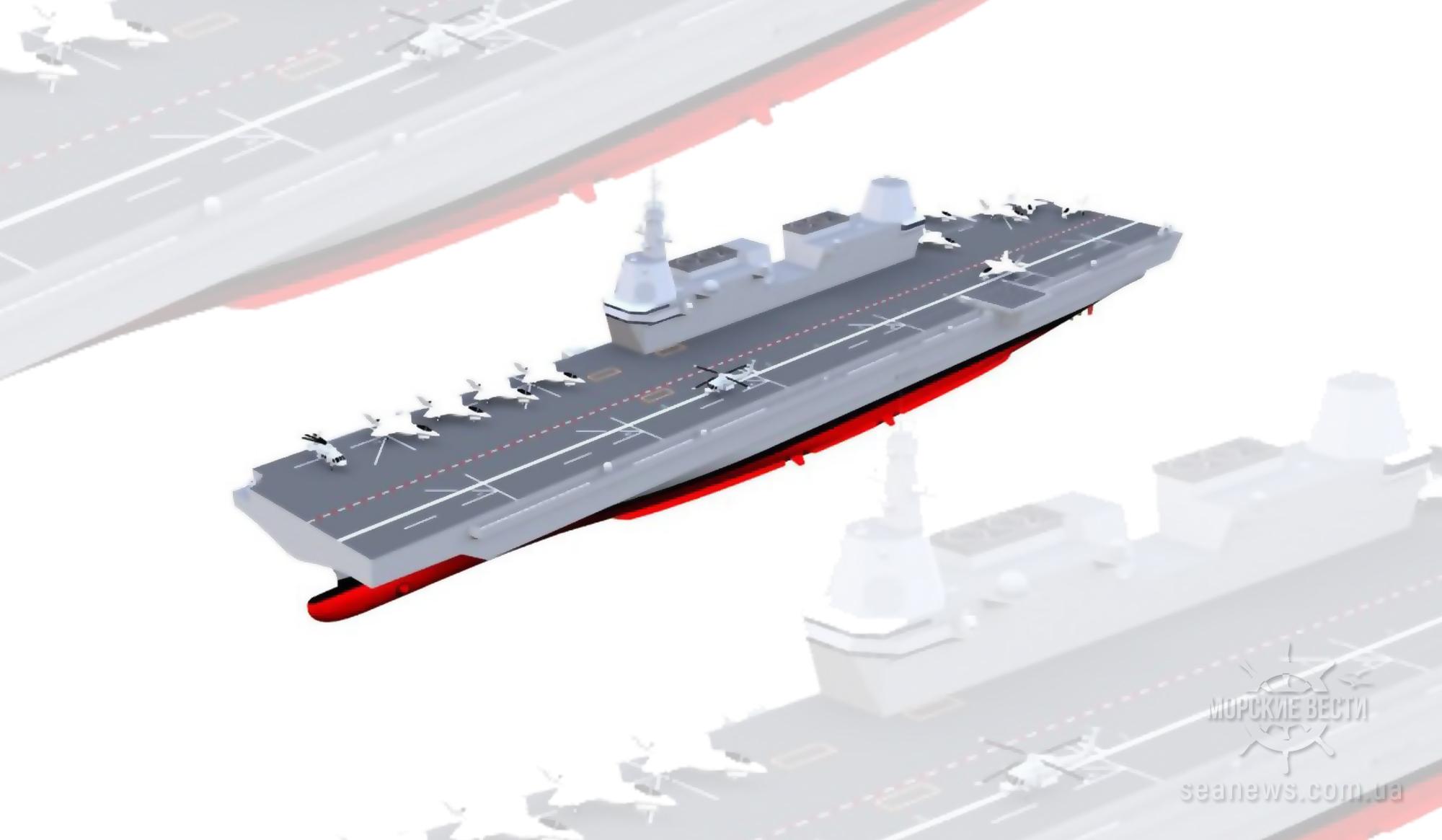Сеул намерен ускорить программу разработки легкого авианосца