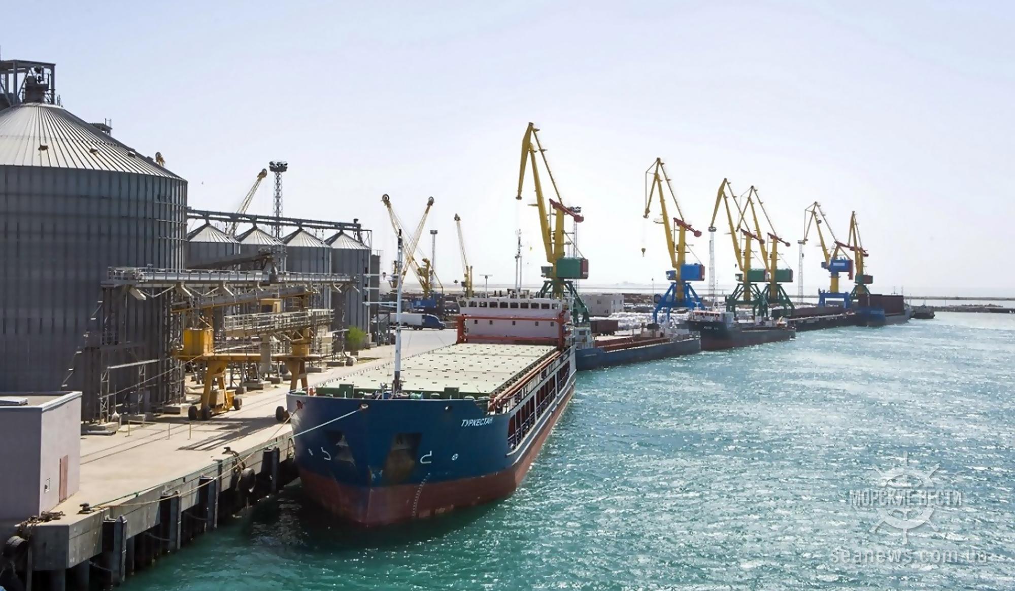 Мариупольский порт отправит в Испанию партию подсолнечного масла