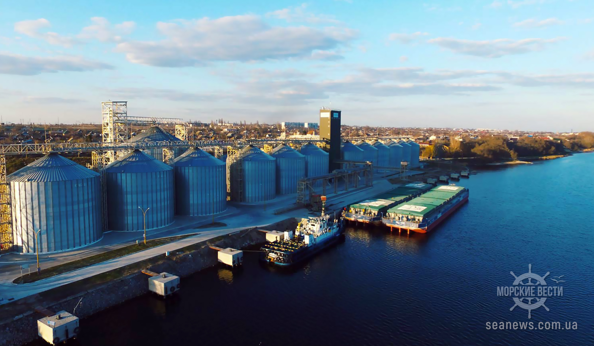 Перевозка грузов по Днепру упала на 5,3%