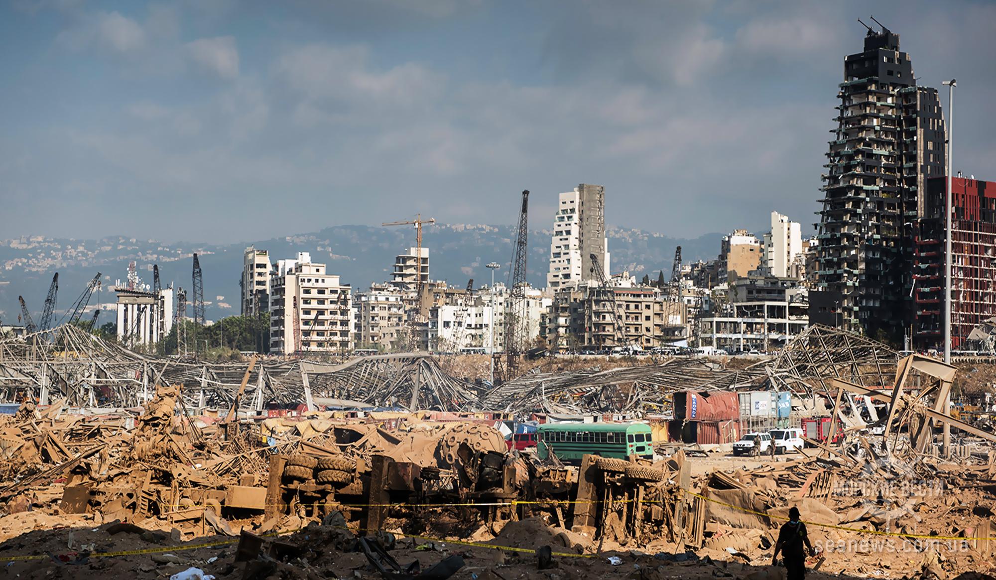 «Украинская страховая группа» выплатила $1,33 млн. за груз пшеницы, поврежденный взрывом в порту Бейрута
