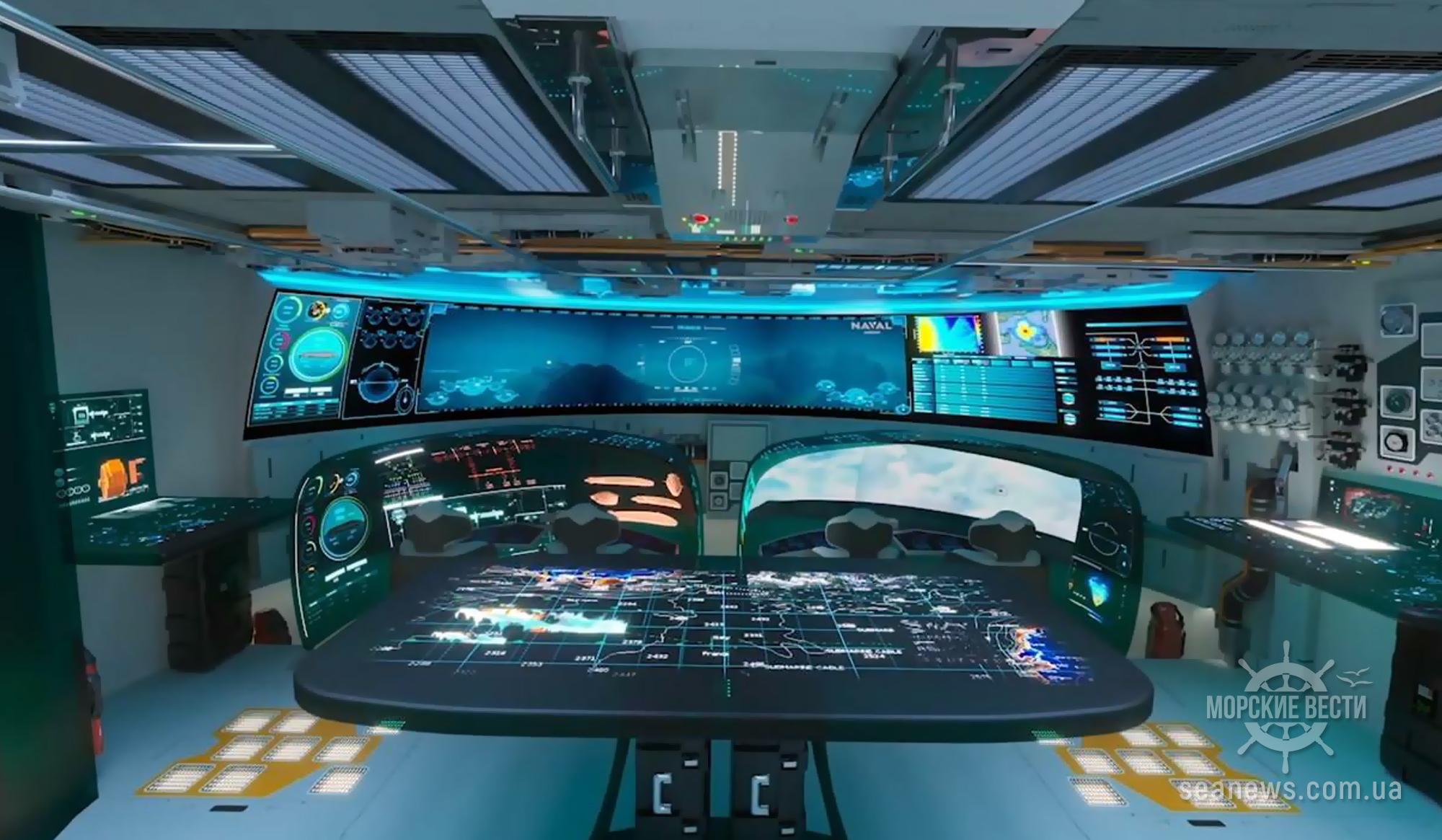 Франция представила концепт полностью электрической подводной лодки