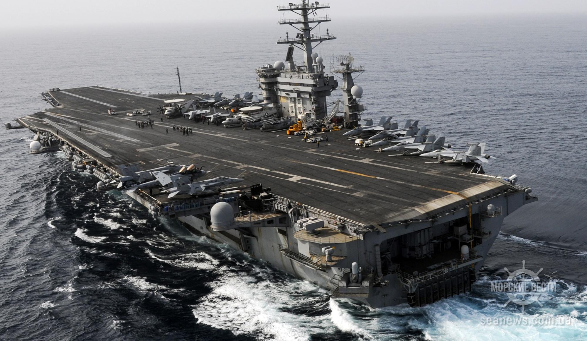 Американский авианосец остается в Персидском заливе из-за угроз Ирана