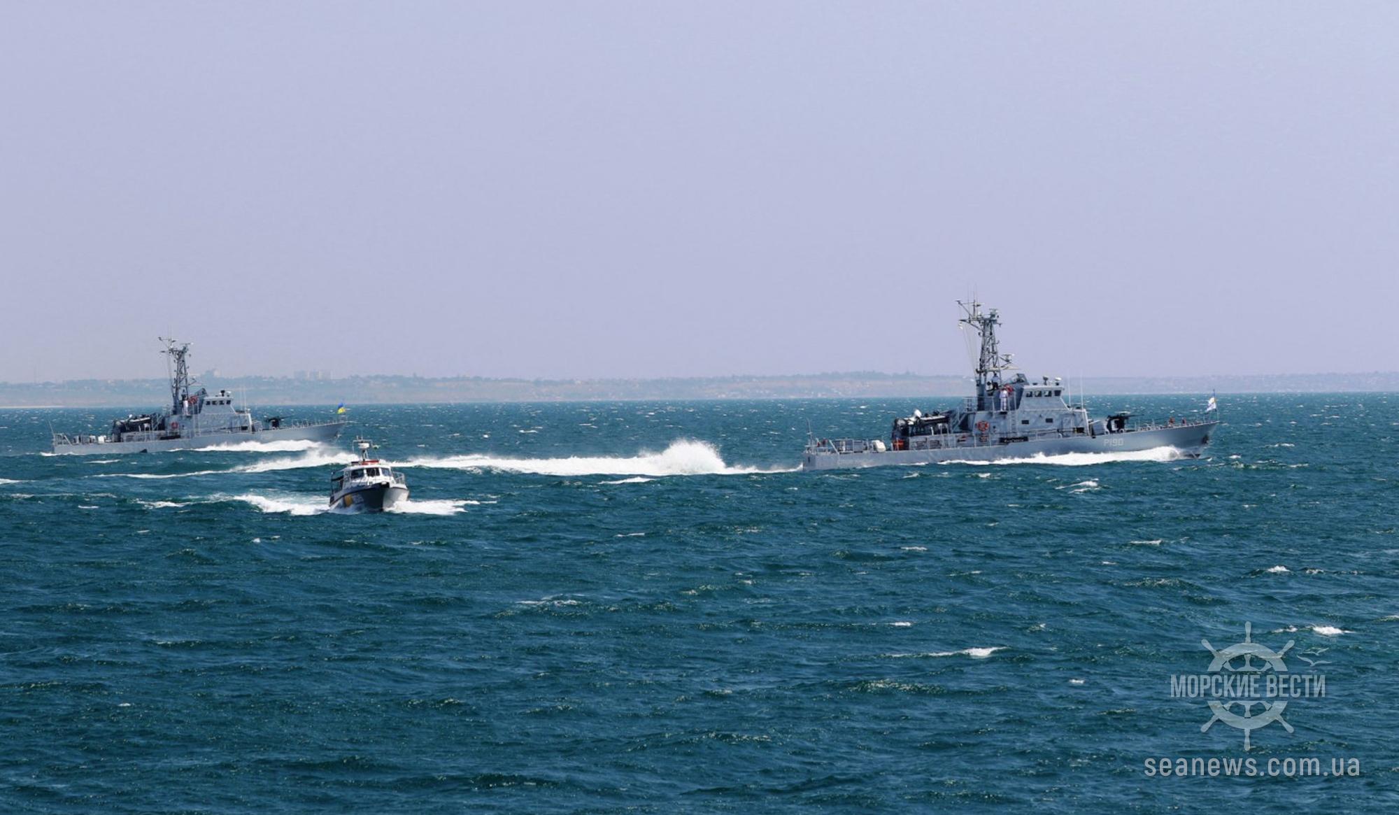 Экипажи ВМС Украины пройдут 10-недельную подготовку в США