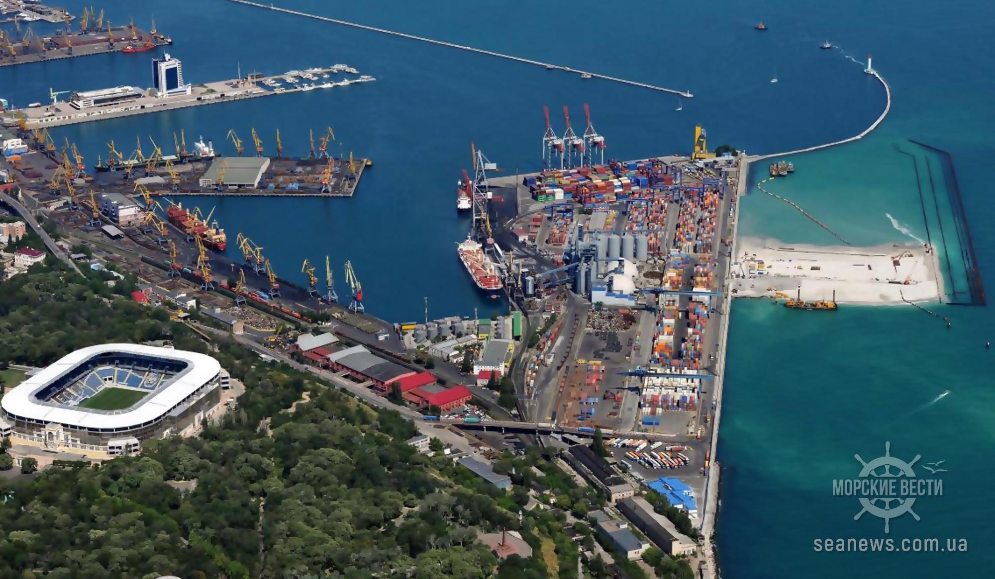В Одессе достроили железную дорогу в порт