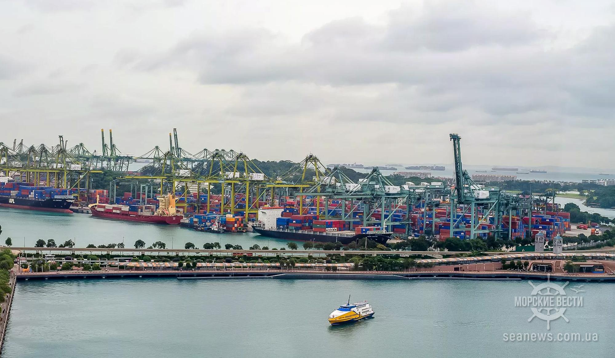 Морская и портовая администрация Сингапура изменит ставки портовых сборов