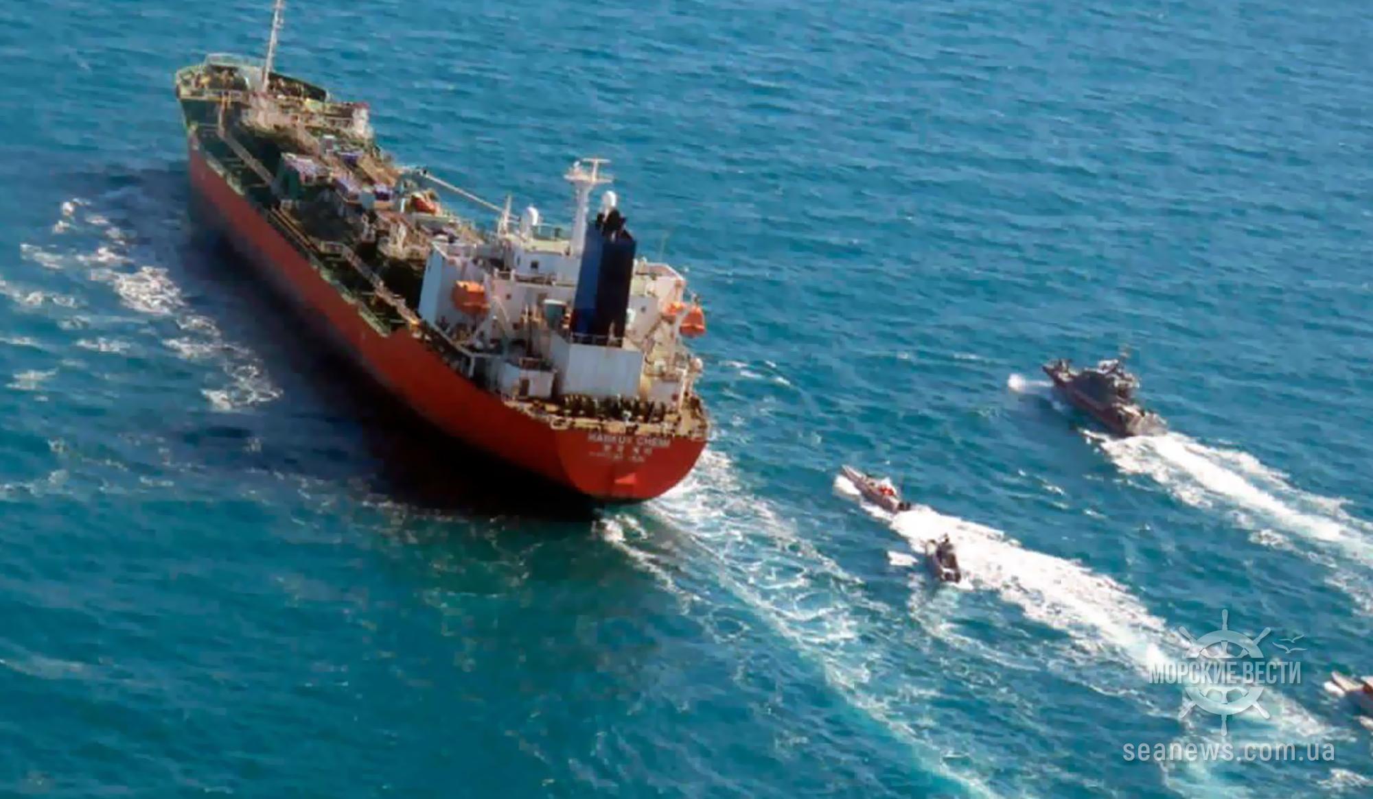 Иран освободил задержанный в январе 2021 года южнокорейский танкер