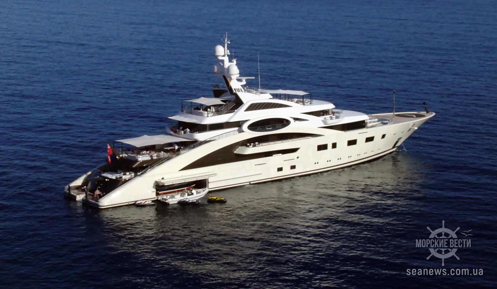 Украинский миллиардер продает яхту за €119 млн