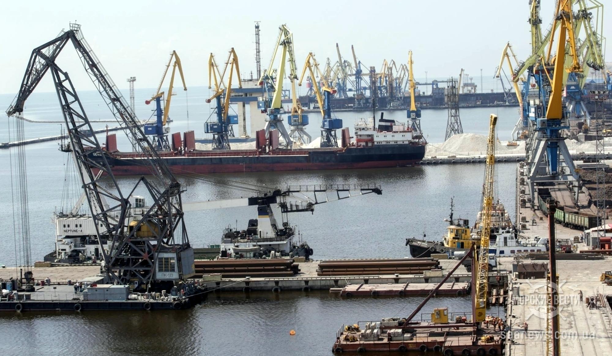 Порты Украины работают в штатном режиме
