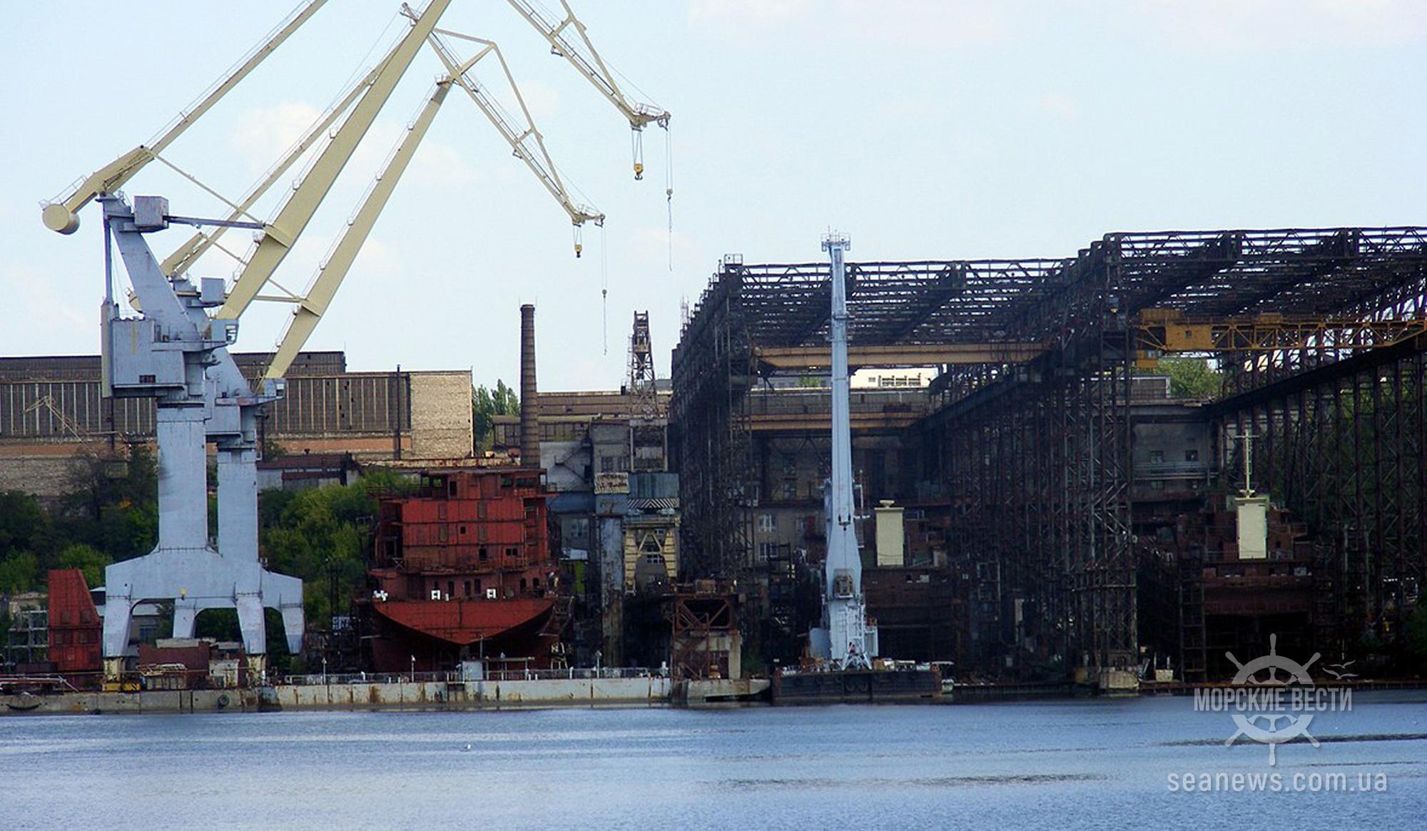 В Кабмине готовятся демилитаризовать Николаевский судостроительный завод