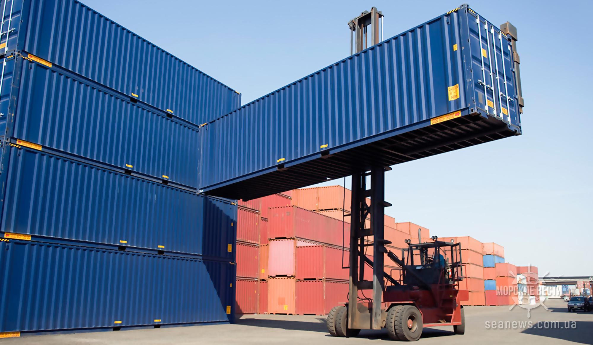 Мариупольский порт возвращается к контейнерным перевозкам