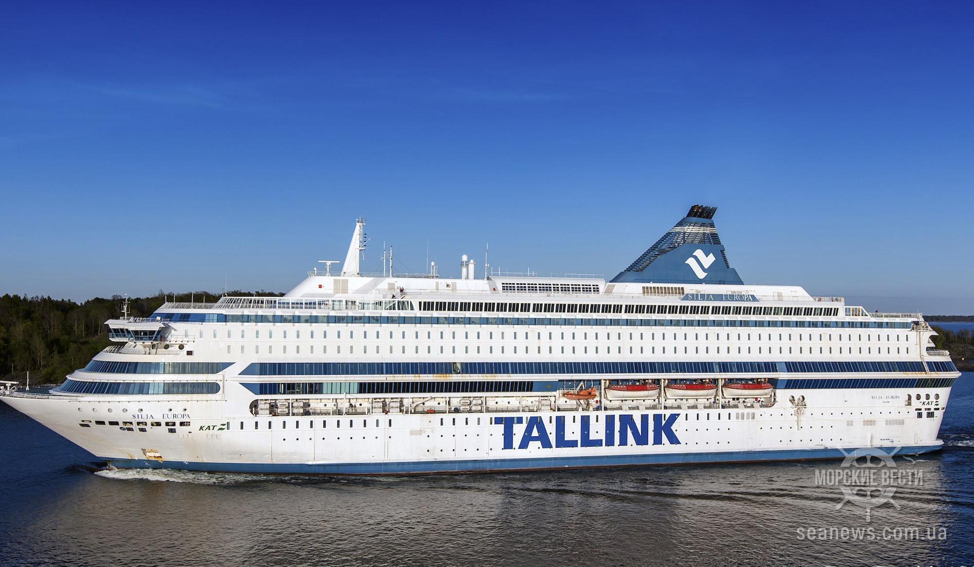 Эстонский круизный лайнер станет отелем для британских полицейских