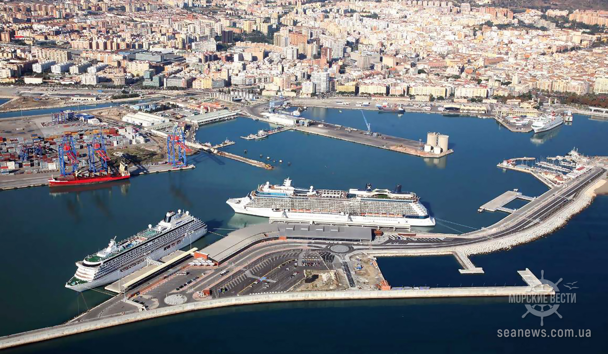 Испания открывает свои порты для круизных лайнеров