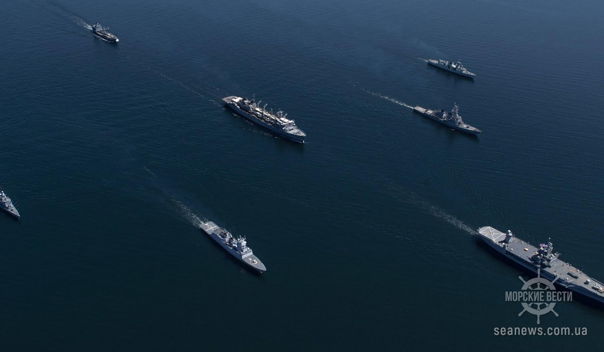 Военно-морские учения НАТО Baltops начались в Балтийском море