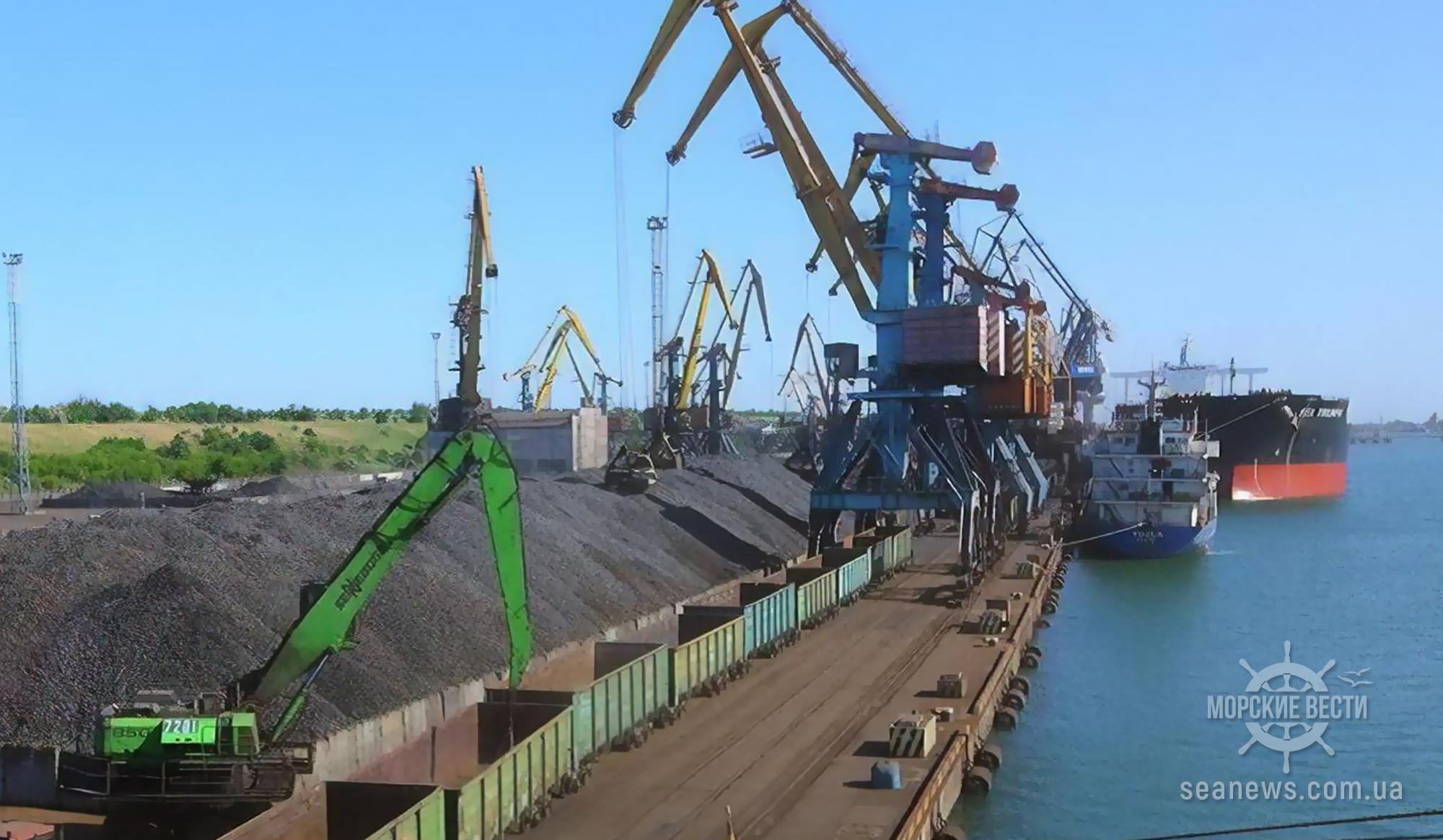 Порт «Южный» заключил новый контракт на перевалку руды