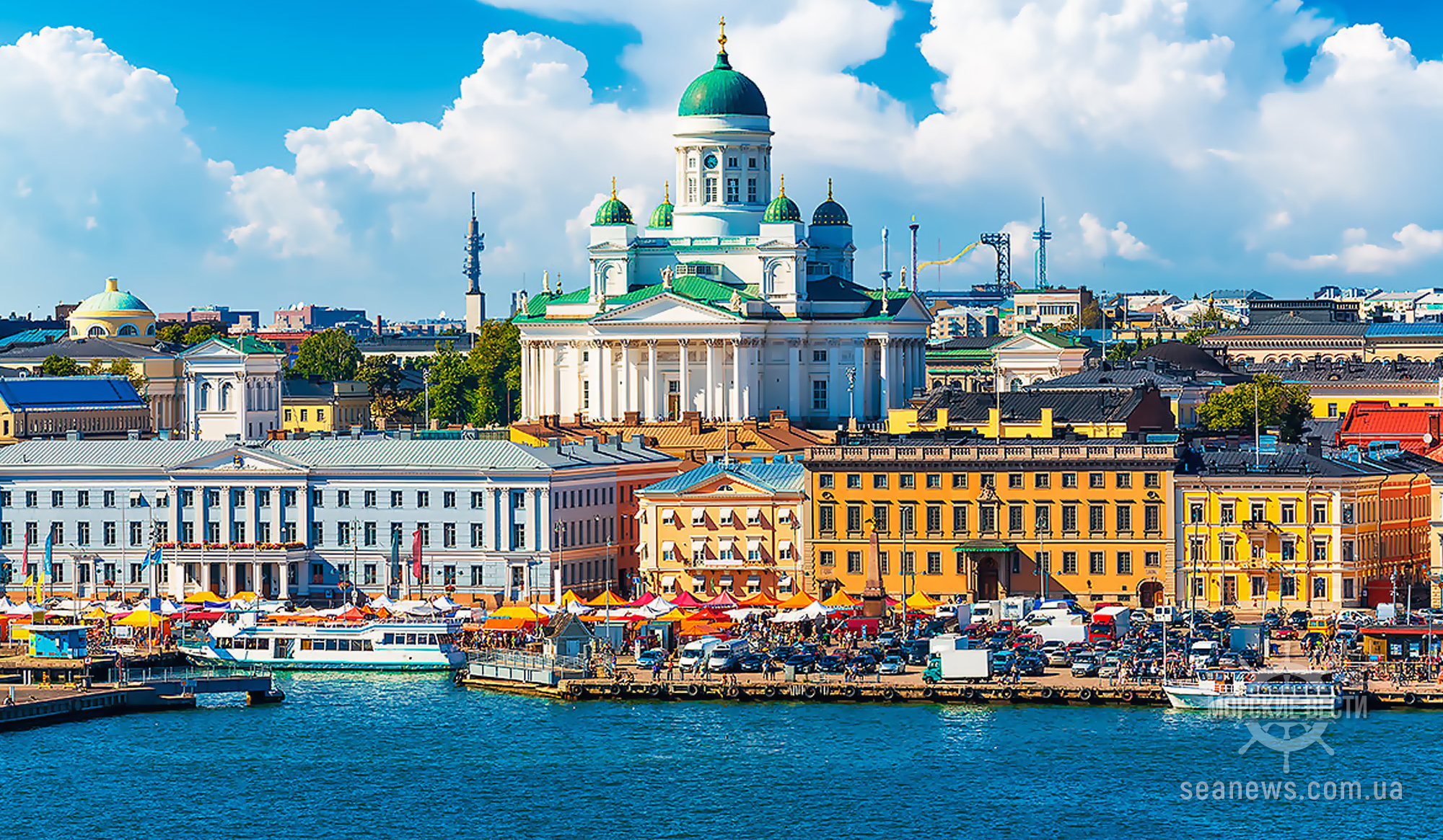 С этой недели Финляндия разрешит круизным туристам сходить на берег